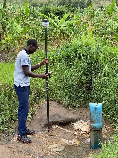 Trimble R2 GIS survey Juru water system