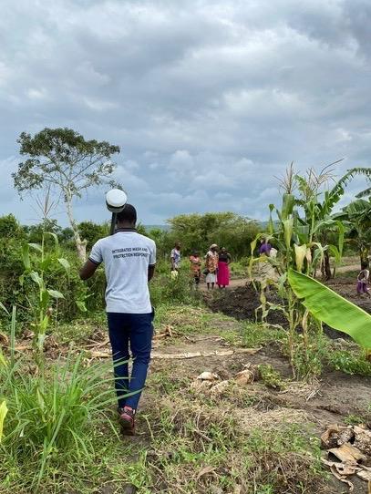 Uganda water system GIS Trimble Centerpoint RTX