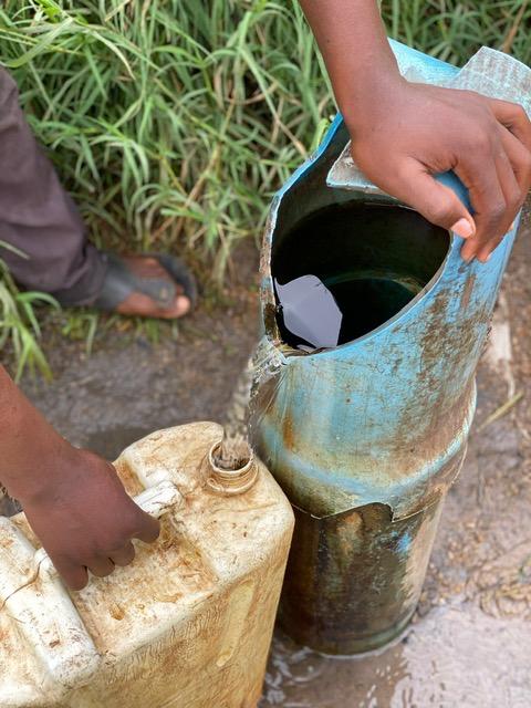 Water system Uganda