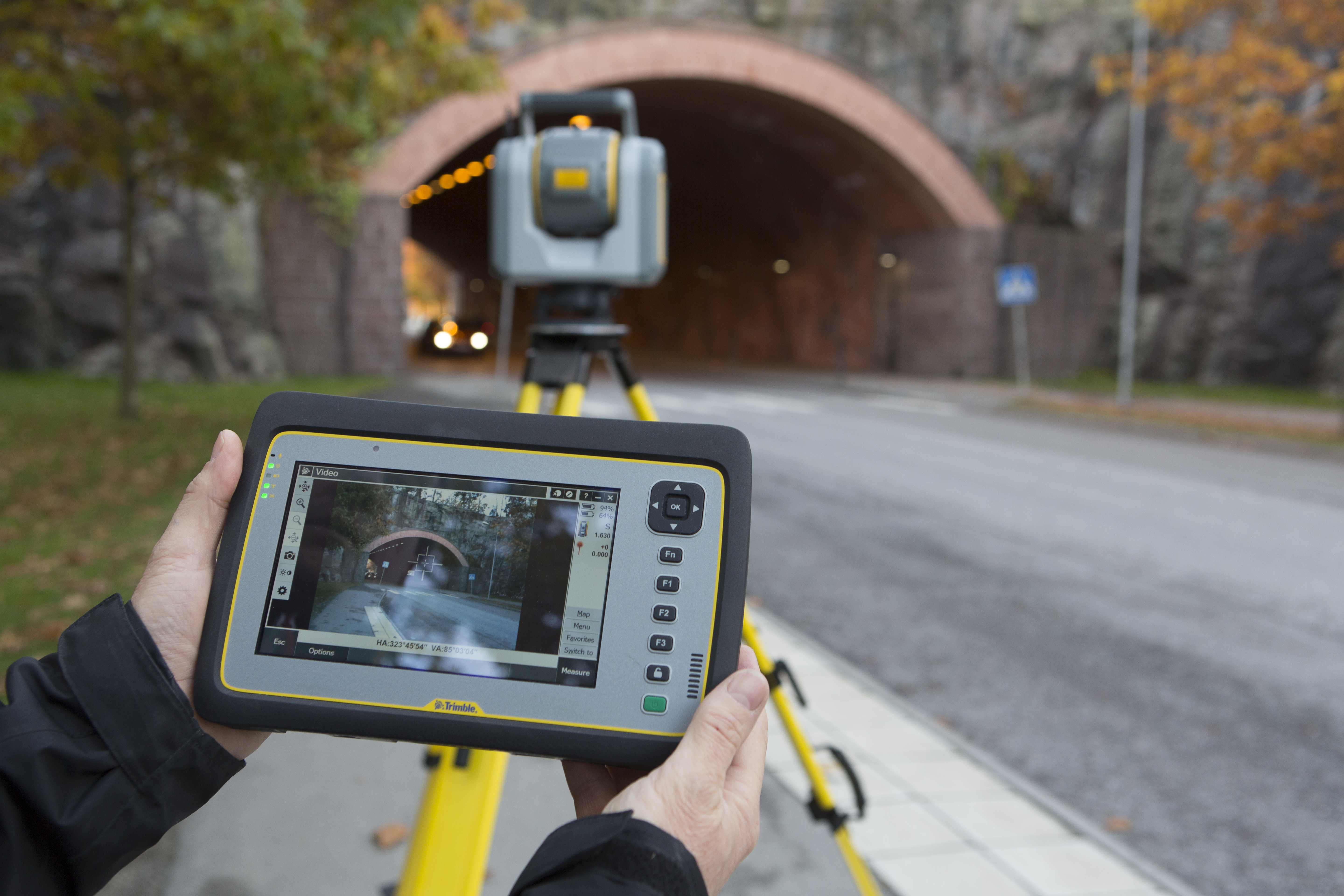 Tunnel-Surveying