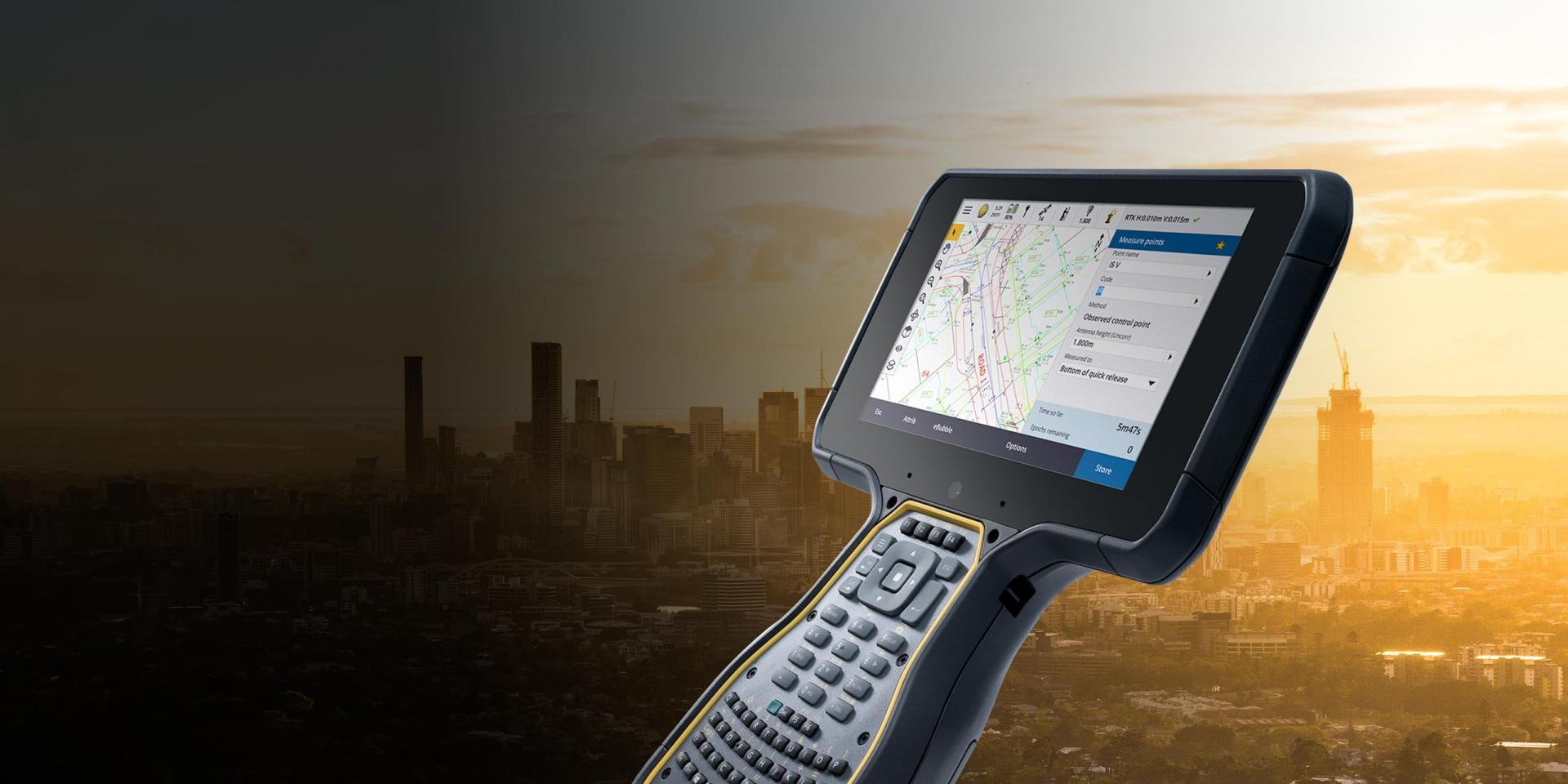 Trimble TSC7 + Trimble Access Land Surveying Software