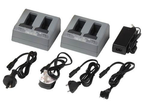 2xDual Slot Battery Charger Kit