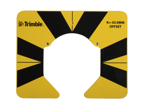 Sighting Target for Traverse Prism