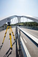 Trimble S9 Autolock bridge