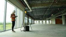 Trimble X7 Buildings interior